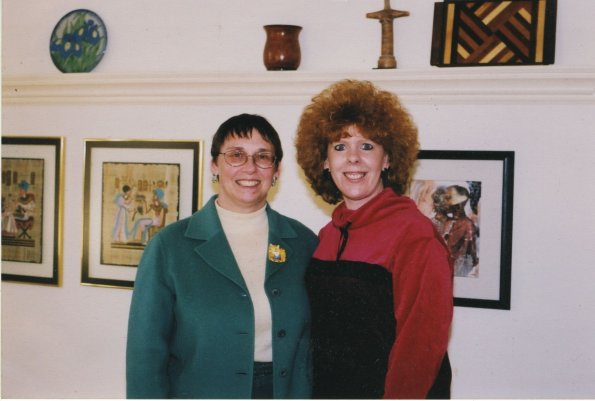 Linda and Dawn Elmy